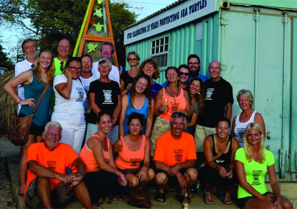 Sea Turtle Conservation Bonaire looks back on positive 2016
