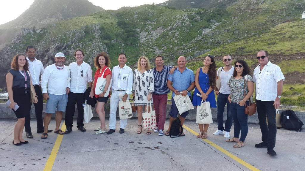 St. Barths Tourism Stakeholders visit Saba