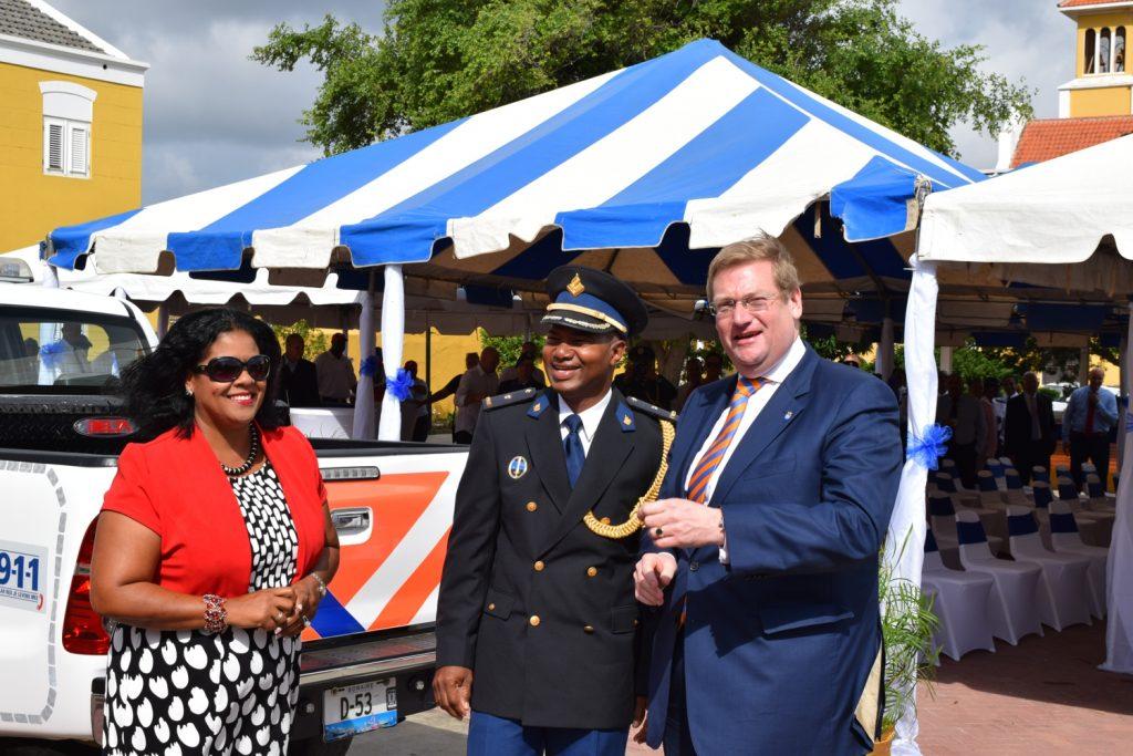 Installation new Chief of Police underway