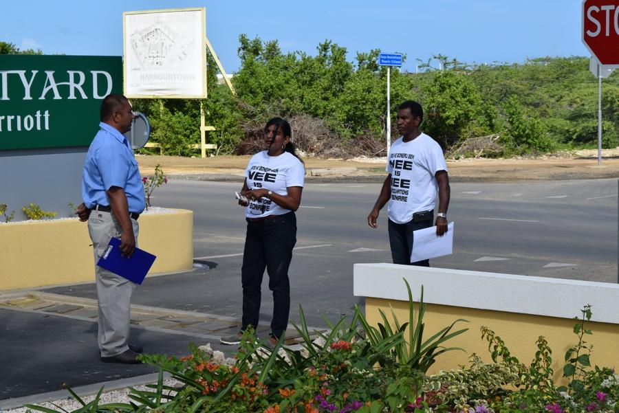Nos ke Boneiru bek denied entrance to Poverty Summit venue