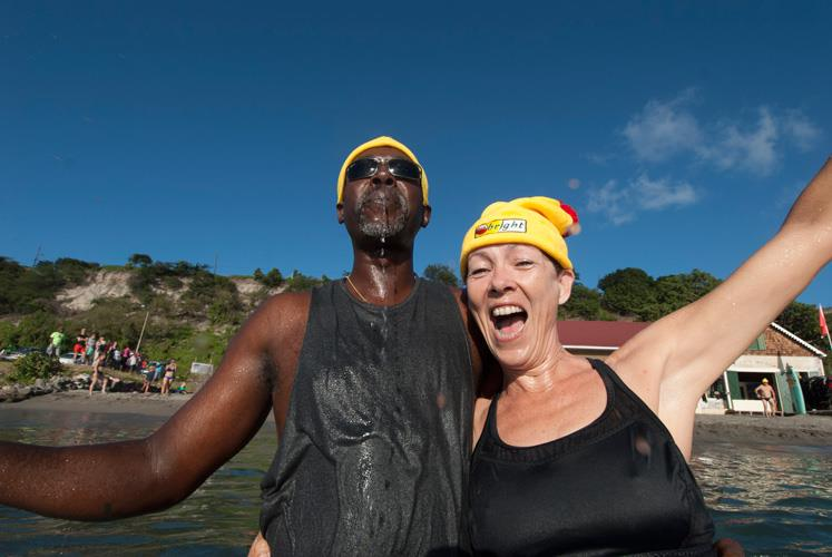 Lots of fun with New Year's Splash in Statia