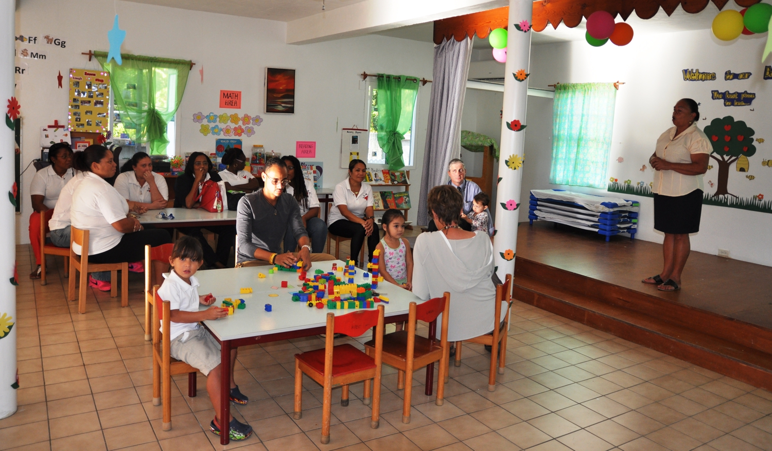 New Classroom at Laura Linzy Day Care center