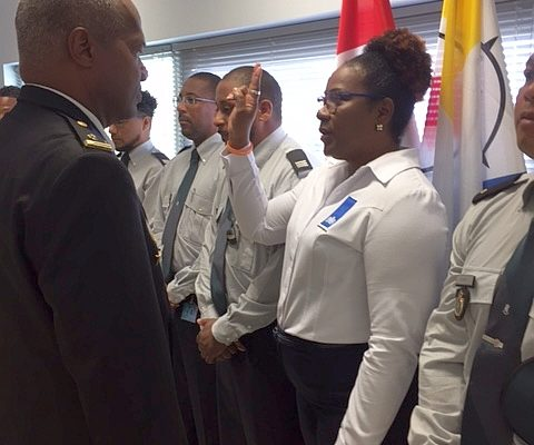 Sandra Martina 1st female Labor Inspector in the Caribbean Netherlands