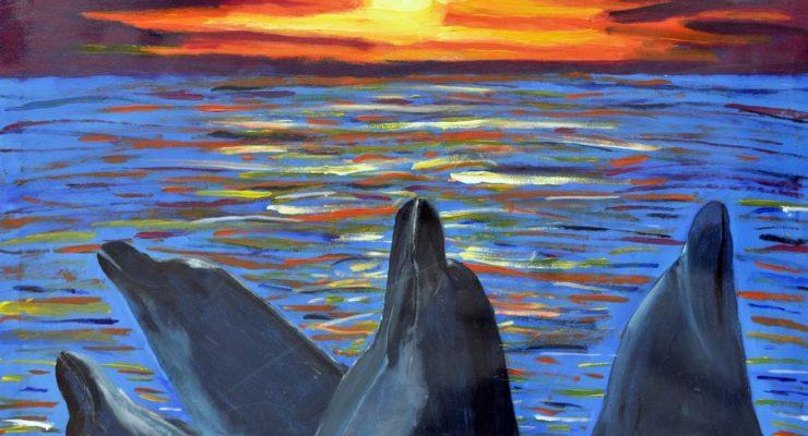 Debut Exhibition of Bonaire painter