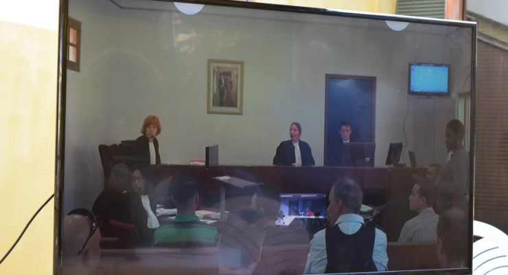 Venezuelan robbers in Court for second time this morning