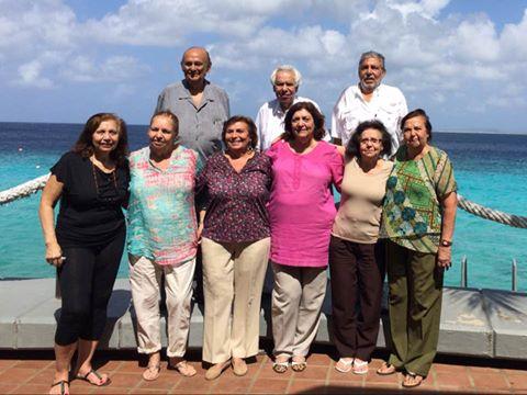 Abraham siblings meet in Bonaire
