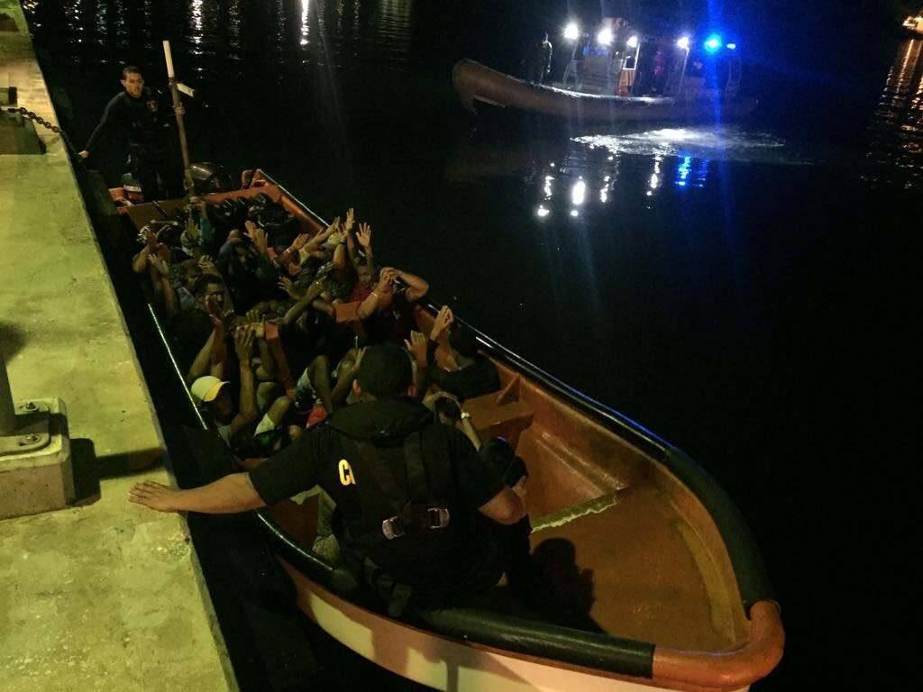 Coastguard detains vessel with 22 Venezuelans