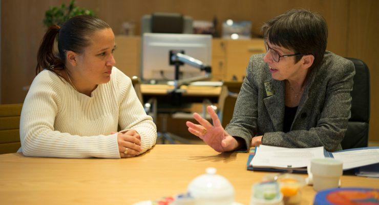Commissioner Den Heyer meets State Secretary Klijnsma