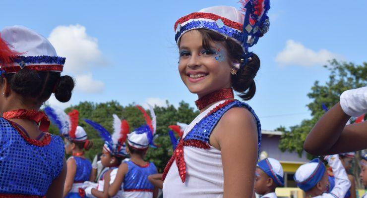 Children's parade in Kralendijk