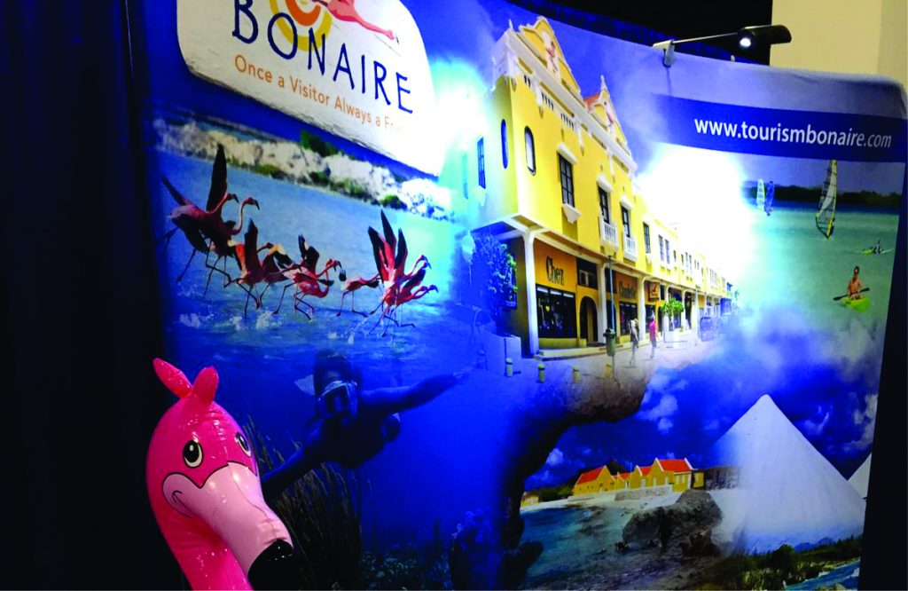 Bonaire present at Boston Globe travel show