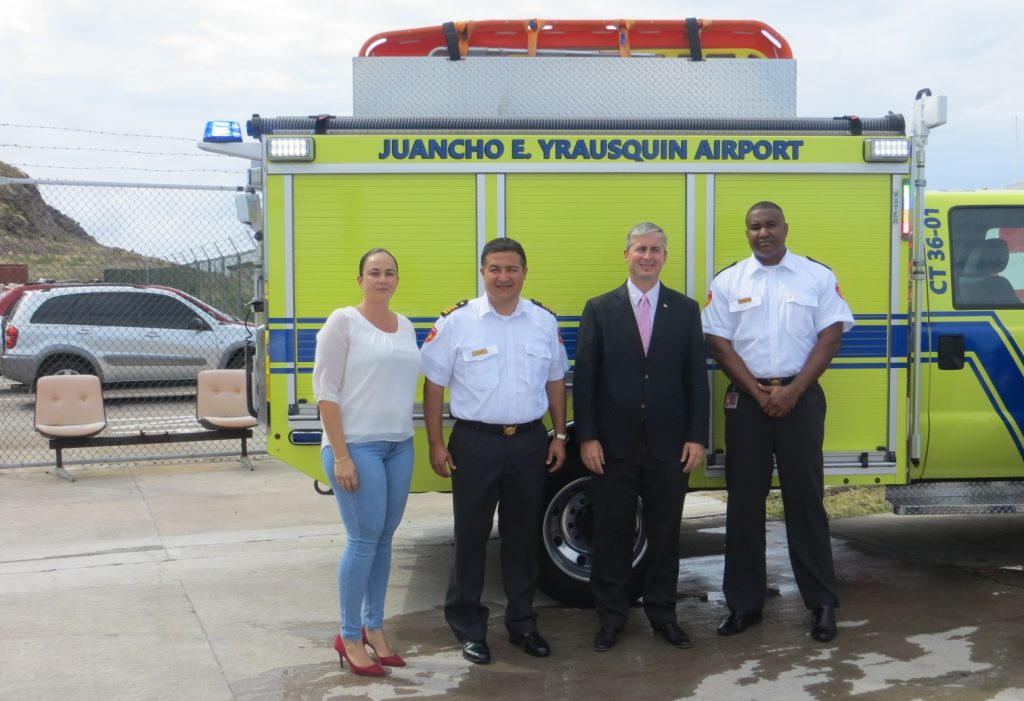 Fire Department welcomes new crash tender