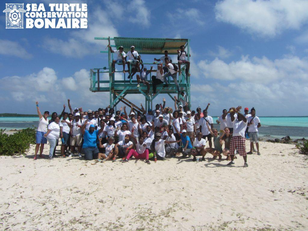Sea Turtle Conservation Bonaire thanks Bon Doet Volunteers