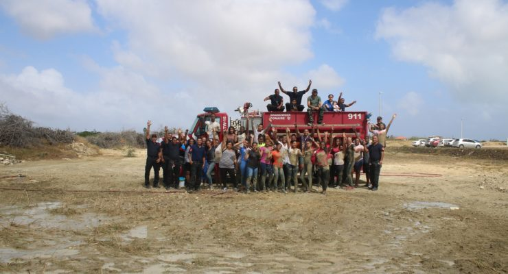 Teambuilding Fire Department and SGB/MBO students Care and Welfare