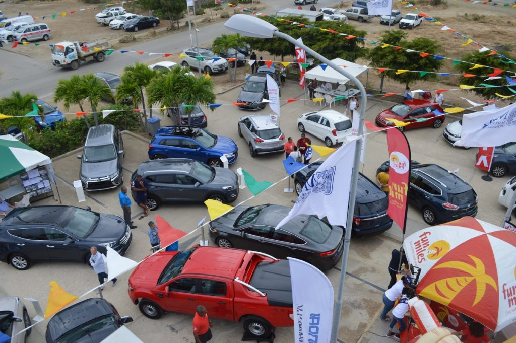 MCB Bonaire with another successful car show