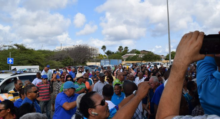 Manifestation against possible pension cuts