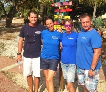 Tropical Divers the latest to take part in Bonaire's reef restoration efforts