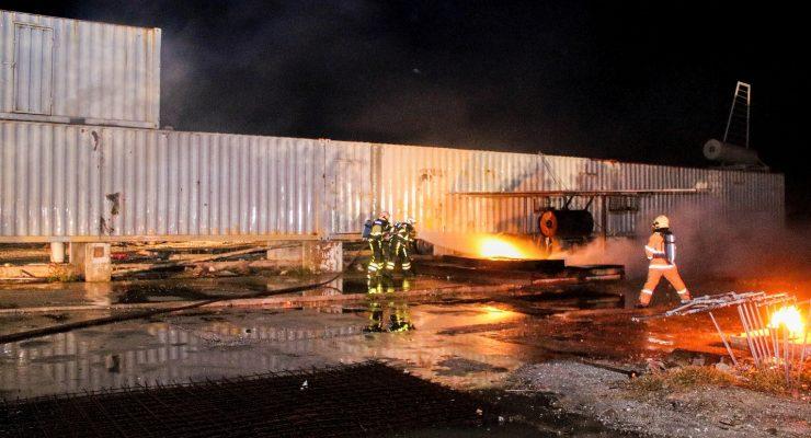 BKCN instructors train airplane firefighting