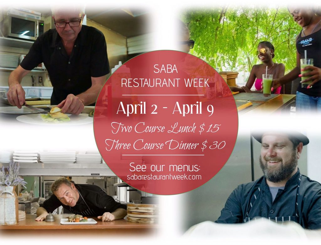 2nd Restaurant Week takes place on Saba