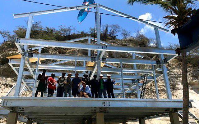 Statia's Orange Bay Hotel reaches highest point
