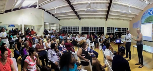Information evening for Immigrants sees massive turnout