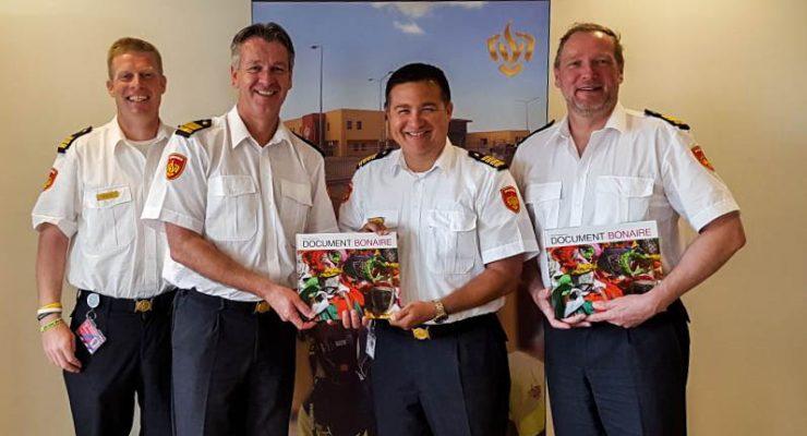 Visit Dutch Fire Department to Caribbean Netherlands Fire Brigade