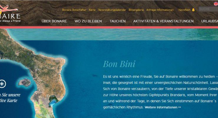 Tourism Corporation presents German language website