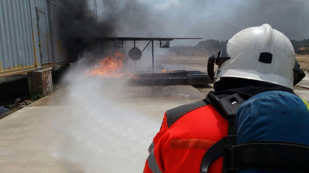 Training Aircraft fire fighting CN