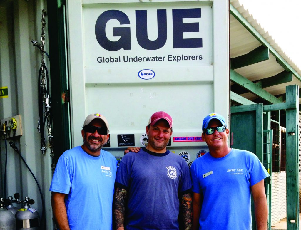 Buddy Dive becomes first GUE dive center in the Caribbean & South America