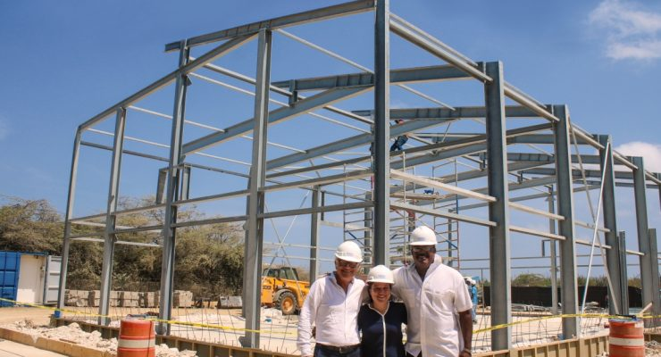 Highest point in reconstruction of SGB sports gyms