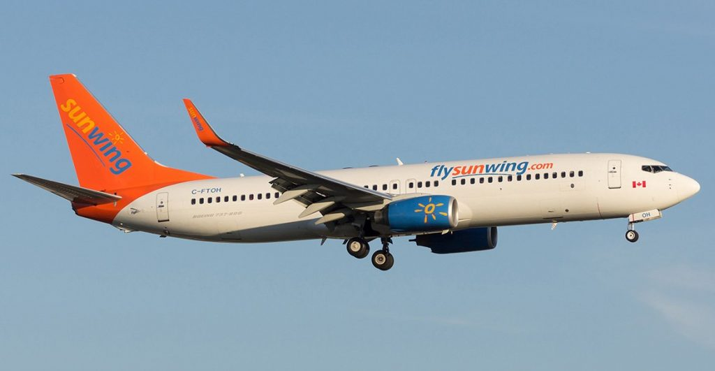 Sunwing with flights to Bonaire during winter months
