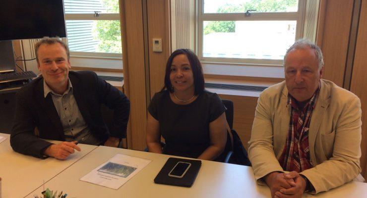 Commissioner Hellburg-Makaai held meetings about reorganization of LVV