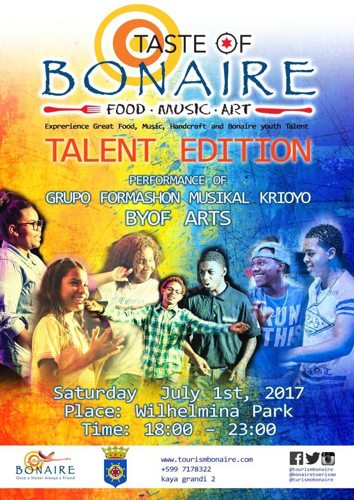 "TCB organizes 4th ""Taste of Bonaire"""