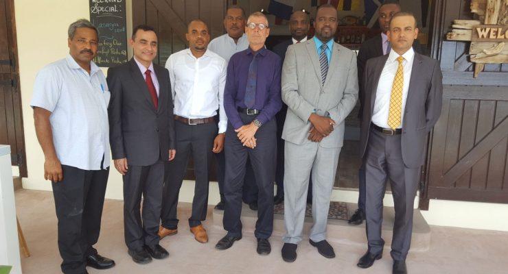 Indian ambassador to Venezuela & Caribbean visits Statia