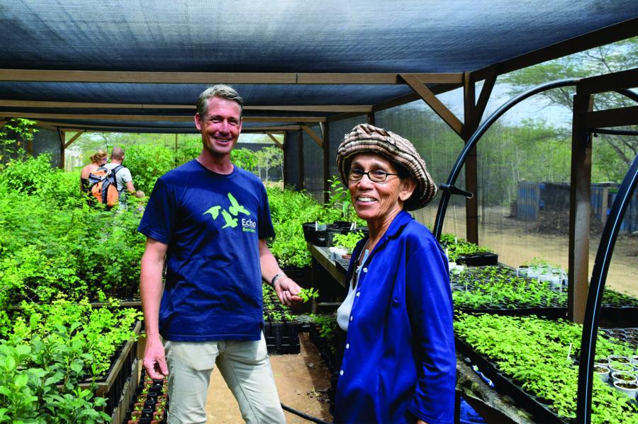 Nursery manager Johan van Blerk en Maria Koeks