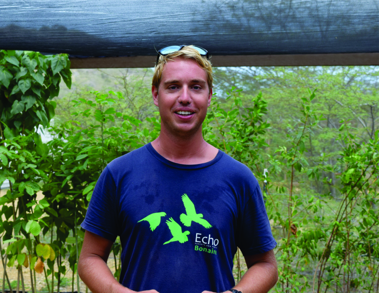 Reforestation manager Querijn Coolen