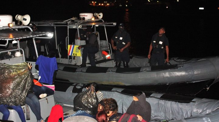 Coastguard detains 26 undocumented Venezuelans
