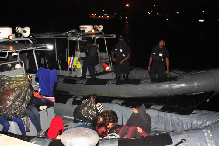 coast guard detains 26 Venezuelans