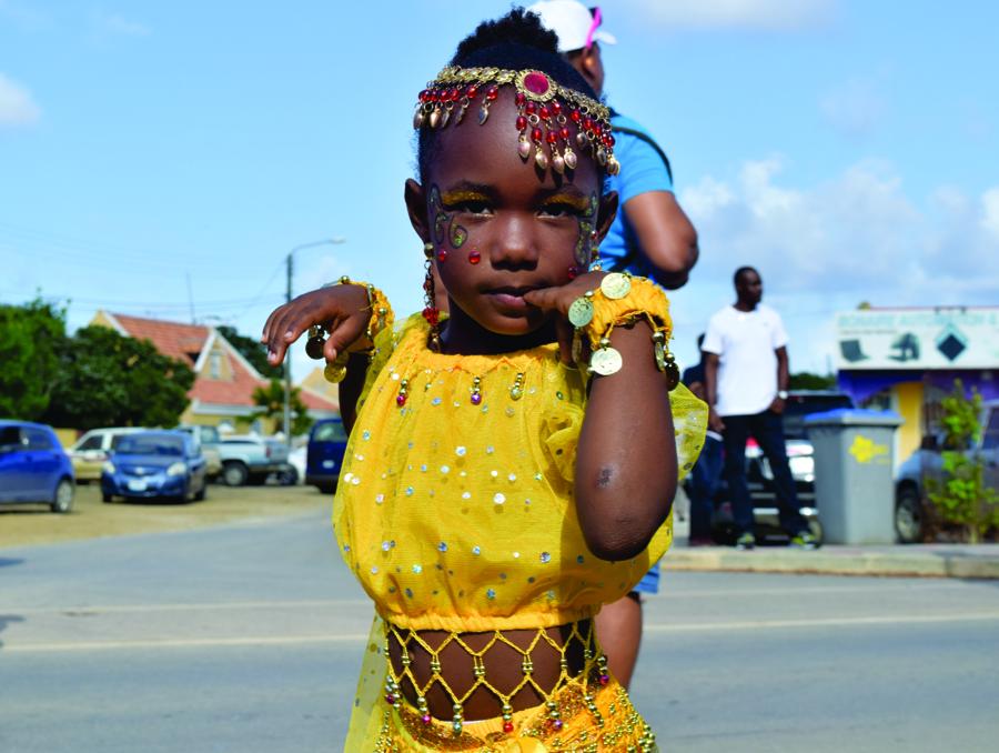 Little girl in Carnival