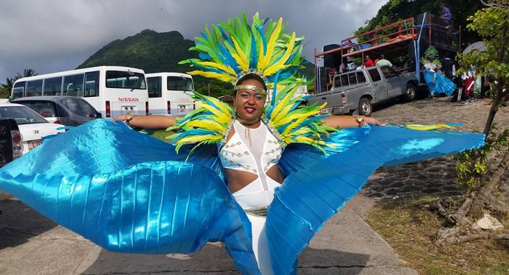 Statia Carnival shines with colorful costumes, activities