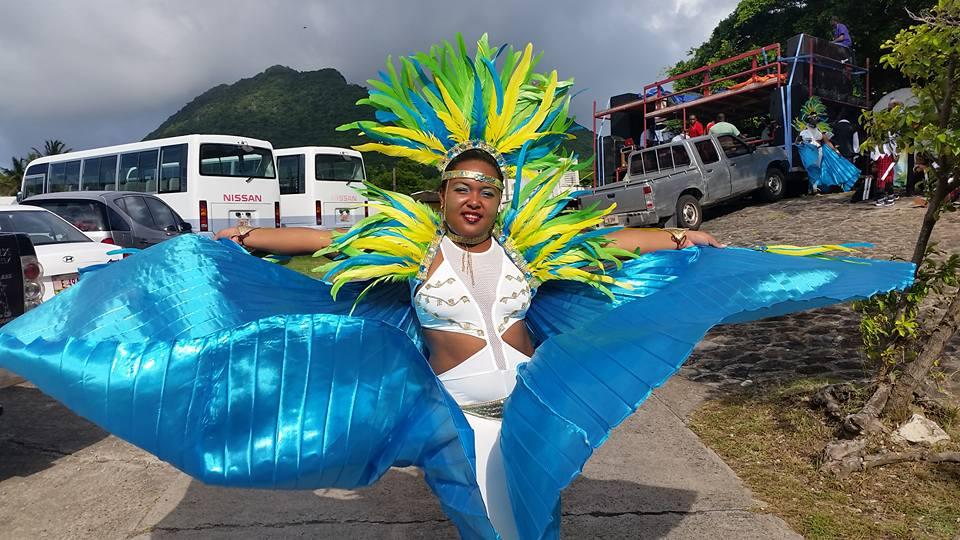 Participant to Statia Carnival