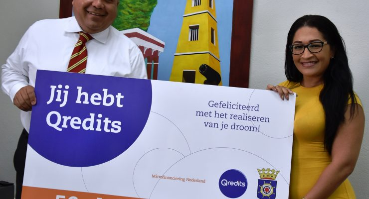 50th Qredits Micro-credit has been granted in Bonaire