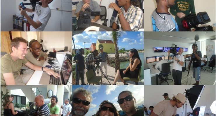 B-onair (be-on-air) newest broadcasting station on Bonaire