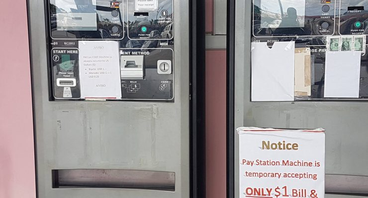 Payment of parking fee remains issue at Flamingo Airport