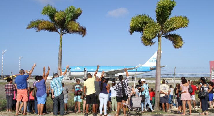 Students from the Caribbean Netherlands arrived safely in The Netherlands
