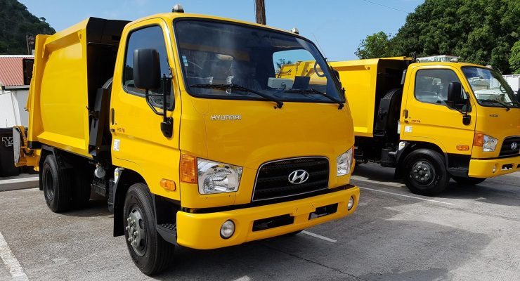 New garbage trucks for Saba operational as of next week