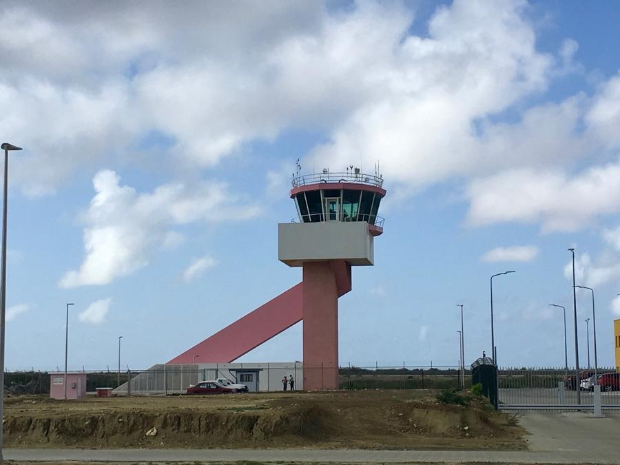Bonaire's Flamingo International Airport gets new aerodrome control tower