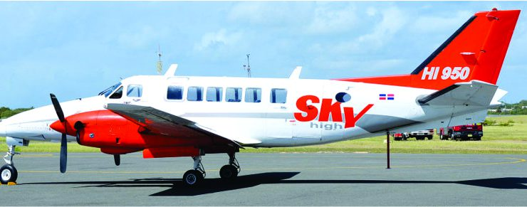 Skyhigh Aviation interested to serve St. Eustatius