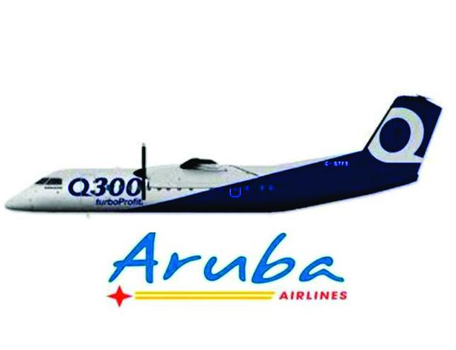 Aruba Airlines Q300 2