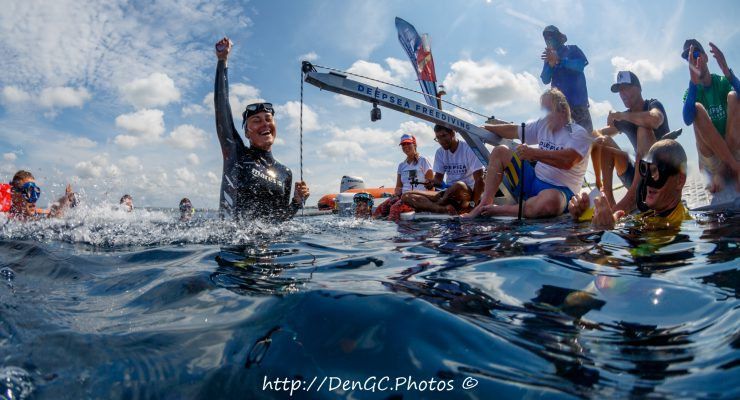 Bonaire Deepsea Challenge Freediving competition succesfully
