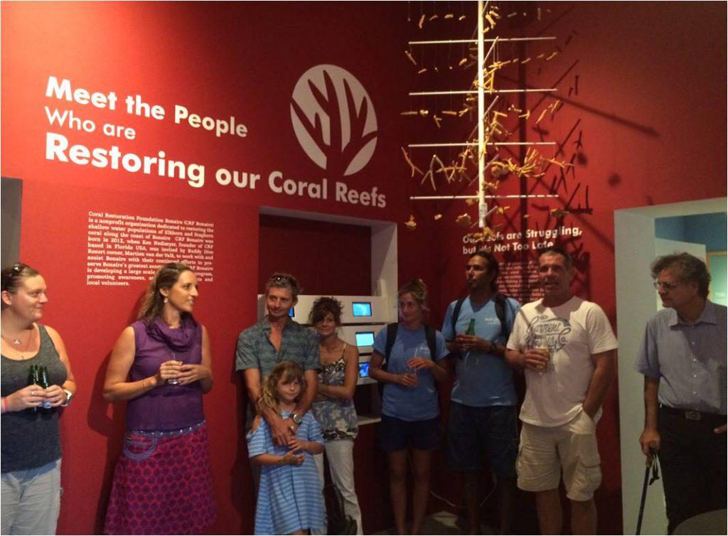 Coral Restoration Exhibit opens in Terramar Museum